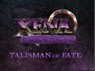 Xena Warrior Princess - The Talisman of Fate