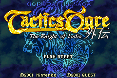 Tactics Ogre Gaiden - The Knight of Lodis