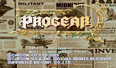 Progear (USA 010117)
