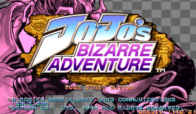 JoJo's Bizarre Adventure: Heritage for the Future / JoJo no Kimyouna Bouken: Miraie no Isan (Japan, 990913, NCD)