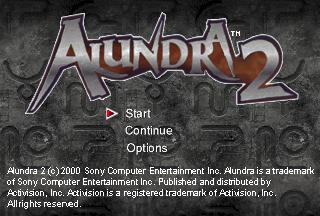 Alundra 2 - A New Legend Begins (U)