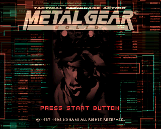 Metal Gear Solid (Demo) (E)