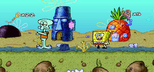 SpongeBob SquarePants - SuperSponge (U)
