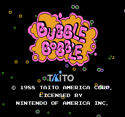 Dead Bubble Bobble