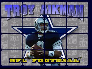 Troy Aikman NFL Football (1995) (Williams)