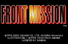 Front Mission