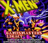 X-Men - Gamemaster's Legacy