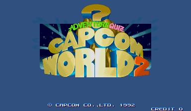 Capcom World 2 (Japan 920611)