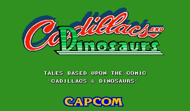 Cadillacs and Dinosaurs (World 930201)