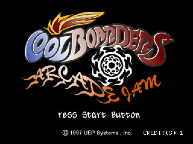 Cool Boarders Arcade Jam