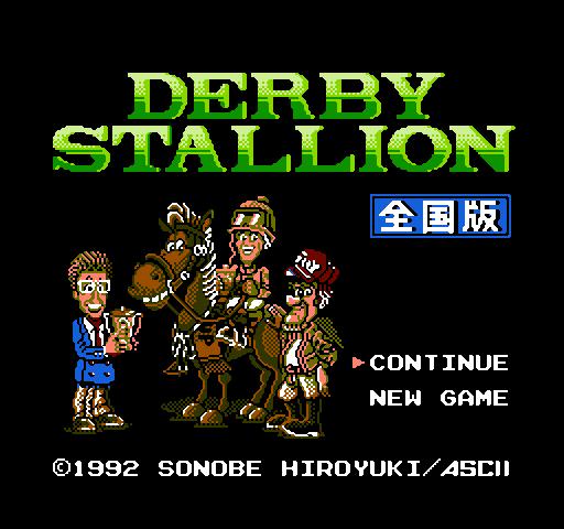 Derby Stallion - Zenkoku Han