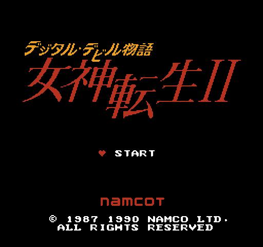 Digital Devil Monogatari - Megami Tensei II
