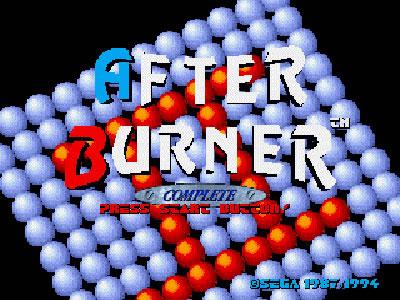 After Burner Complete (32X)
