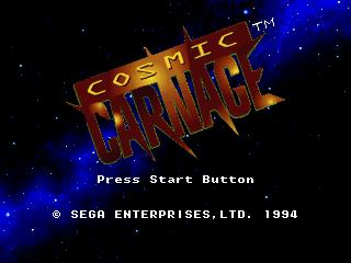 Cosmic Carnage (32X)