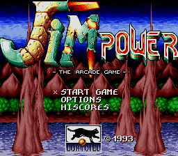 Jim Power - The Arcade Game