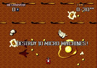 Micro Machines Military - It's a Blast!