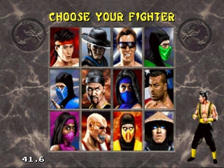 Mortal Kombat II (32X)