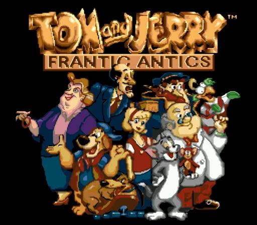 Tom and Jerry - Frantic Antics