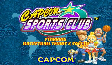 Capcom Sports Club (Euro 970722)