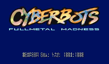 Cyberbots: Fullmetal Madness (Euro 950424)