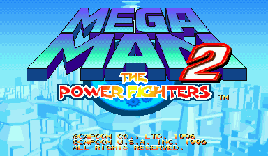 Mega Man 2: The Power Fighters (USA 960708)