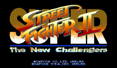 Super Street Fighter II: The New Challengers (World 930911)