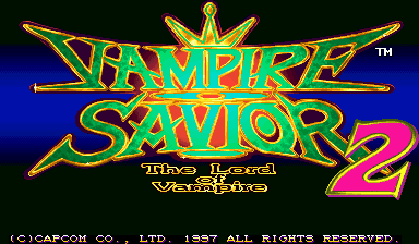 Vampire Savior 2: The Lord of Vampire (Japan 970913)
