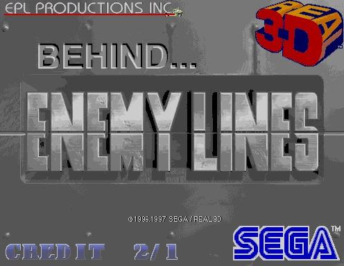 Behind Enemy Lines [Model 2C CRX]