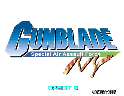 Gunblade NY: Special Air Assault Force [Model 2B CRX]