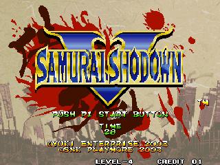 Samurai Shodown V / Samurai Spirits Zero (Set 1)