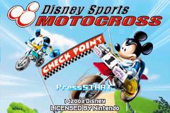 Disney Sports - Motocross