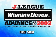J.League Winning Eleven Advance 2002
